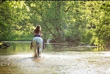Trash the Dress with a horse / Trash the dress / rock the frock ideas for using a horse in the photo shoot