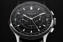 STRELA Watch / Mechanical Watches & Chronographs with Russian Poljot/MakTime movements. #strelawatch