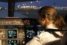 Plane Girls with wings / Plane girls having earned their wings in life. / by Air Cargo - How It Works