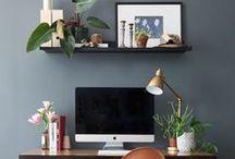 Work Space / Inspirations et idées déco pour une espace de travail personnalisé