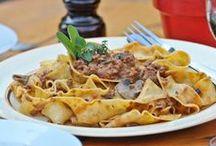 Spaghetti, Rigatoni, Rotelle, Penne....
