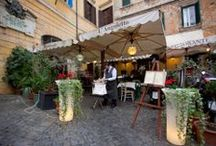 My Angoletto Restaurant Trastevere, Roma / This is the Restaurant i work for