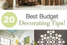 Budget Decor / by Alice Banks