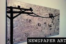 Paper handmade decor