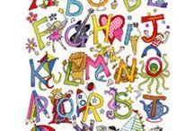 Vyšívání - abeceda