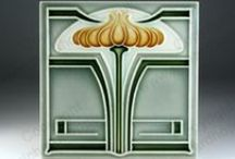 Art Nouveau & Art Deco Ceramic Tiles / Some of the wonderful Art Nouveau and Art Deco tiles I deal in and have sold. To see what is currently in stock, click the links on any item to visit my website or send me an email.