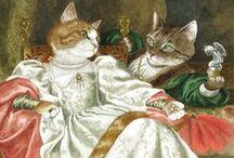 •❤• SUSAN HERBERT - art cat •❤•