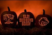 Sam Boyd Scary / Happy Halloween • UNLV Football vs. Boise State • October 31, 2015 • 12:30 PM PT • ESPNU / by UNLV Athletics