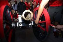 The [ RED ] Fremont Cannon / One of College Football's Loudest Symbols of Rivalry / by UNLV Athletics