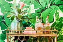 Breezy Holiday Bar Cart / Entertaining at your place? Make spirits island-bright with our ideas for a Caribbean-inspired bar cart! Share the warmth of the season in a whole new way.  / by Bahama Breeze