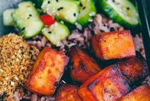 Ⓥ Tofu Dinners / All the savoury vegan and vegetarian tofu recipes you'll ever need!