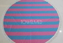Round beach towels / Round towels & blankets. Be fresh at the beach!