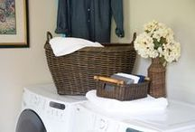 Laundry Room / Laundry room basket storage solutions to fit every household.