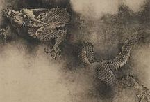 Nine Dragons handscroll / by Chen Rong (1244) Museum of Fine Arts, Boston