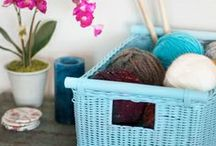 DIY / In the mood for crafts? Heres some great DIY ideas for baskets.
