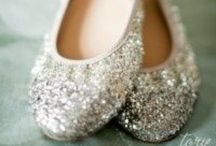 Shoes / Inspiration for the perfect wedding day pair of shoes for the romantic bride.