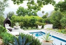 Garden Inspiration / landscaping and pools