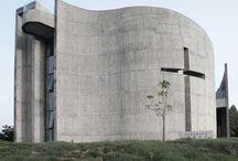 Modern Church / Alle mulige kirker til inspiration til kommende projekt :)