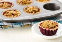 Healthy Baking / Treats that will satisfy your sweet tooth and more, without the guilt
