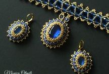 Beadwork by me / Jewelry from thousands of beads made by myself.