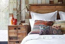 BEDROOMS & BED LINEN / Quartos, camas e roupas de cama. / by ByAninha