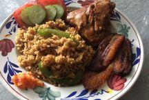 Surinaams eten / Lekkere Surinaamse recepten delen. Kijk ook eens op www.judithdahoe.nl onder recepten.