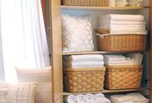 Small Space Solutions / Organization hacks for all your small space needs! Includes everything from dorm room, closets, small apartments, and at the office!