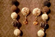 Crocheted beads Necklace