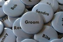 Wedding, Save the Date, Favours / Why not let us create you a wedding, savethedate or favour design. Can be turned into button pin badges, stickers, keyrings or magnets.  A great keepsake for your guests to remember your special day.