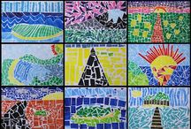 Primary Art / Art ideas for Primary classrooms