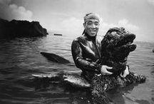 Haruo Nakajima / The Man in the Godzilla suit.