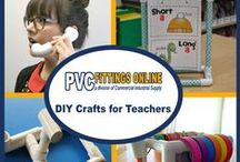 PVC Ideas for Teachers / Fun and educational uses for PVC in the classroom. - For creative teachers on a budget!