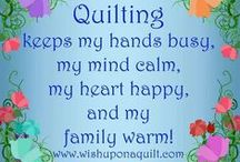 The Quilting Corner / For anyone who loves to quilt or just wants to try! / by Colleen Pace