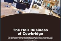 The Hair Business / Images of our beautiful Salon in Cowbridge, South Wales.