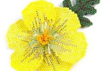 Pretty Yellows / Looking for beadwork of Yellow beads