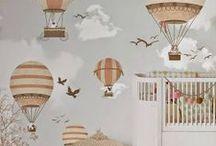 Nursery for the bebes / Nursery and playroom ideas for the little ones