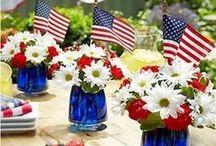 {Patriotic} / Fun Patriotic Food, Activities, Décor, Perfect for Patriotic Holidays