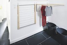 in the laundry room / clever hacks and diy ideas