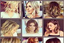 MID LENGTH HAIR STYLES