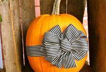 {No Carve Pumpkins} / No Carve Halloween/Fall Pumpkins