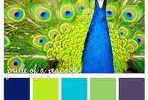 {Color Inspiration} / Color Inspiration for the home, or wardrobe