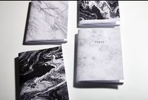papeROSA / Marble notepads/notebooks www.paperosa.pl