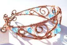 Bracelets / Handmade  copper and brass bracelets.