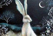 Rabbit and Hare Friends / by Ashaela Shiri