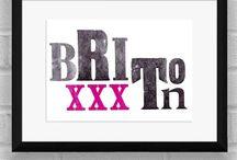 Brixton's Best / Brixton-themed goodies.