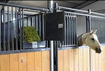 Priefert Stalls   / Priefert manufactures the safest and most efficient stalls for animals, whether it's in a barn or at an expo.  / by Priefert MFG