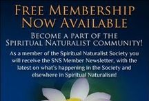 Spiritual Naturalist Society News / News and announcements about spiritual naturalism, its traditional inspirations, and the Society.