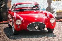 red cars / Οχήματα βαμμένα κόκκινα