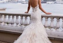 Wedding / Wedding dress, cakes, shoes, bride bouquet