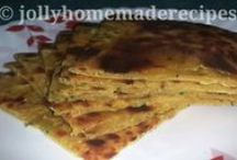 IndianBread ~ Paratha / A paratha is a flatbread that originated in the North of the Indian Subcontinent.